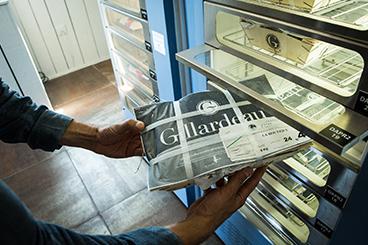 Maison Gillardeau - la Boutique Gillardeau - Distributeur de bourriches Gillardeau