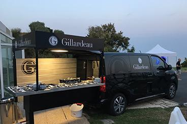 Maison Gillardeau - food truck Gillardeau La Marcelle - prestations de nos Marcelles / services provided by La Marcelle