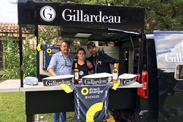 Maison Gillardeau - food truck Gillardeau La Marcelle - services provided by La Marcelle